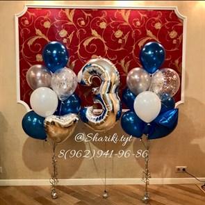 Композиция из воздушных шаров на день рождения №22