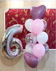 Композиция из воздушных шаров на день рождения №28