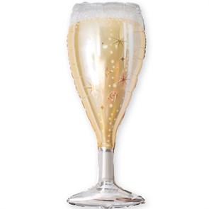 """Воздушный шар на вечеринку """"Бокал шампанского"""""""