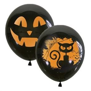 "Воздушный шарик 30 см ""на хэллоуин"""