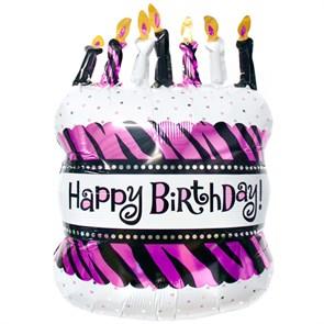 """Воздушный шар """"торт со свечками"""""""