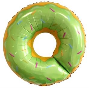 """Воздушный шар """"Пончик зеленый"""""""