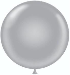 "Воздушный шар гигант ""серебро"""