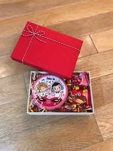 """Сладкий подарочный набор для любимой """"Love Box Lite"""""""