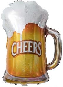 """Воздушный шар на вечеринку """"Пиво в кружке"""""""