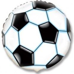 Воздушный шар в виде футбольного мяча