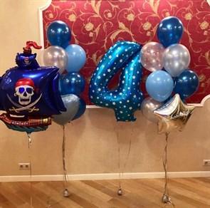 Воздушные шары для пиратской вечеринки