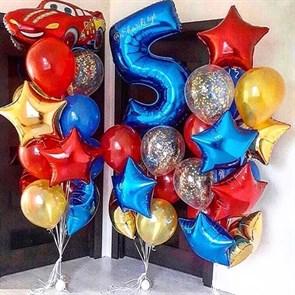 Воздушные шары на день рождения для мальчика!
