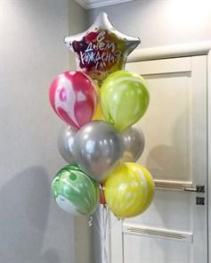 """Набор из воздушных шариков """"Яркий День Рождения"""""""