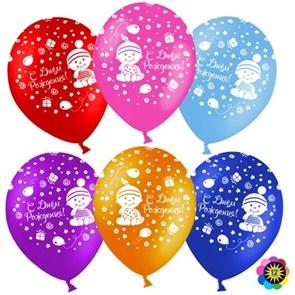 """Воздушные шарики """"С днем рождения малыши"""""""