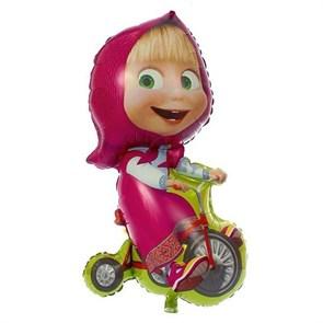 Воздушный шар -Маша на велосипеде