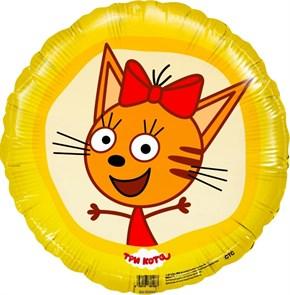 "Воздушный шар Три кота ""Карамелька"""