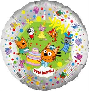 Воздушный шар Три кота на День Рождения
