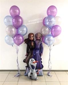 Набор воздушных шаров Холодное сердце  Эльза и Анна