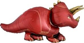 Воздушный шар Динозавр Трицератопс