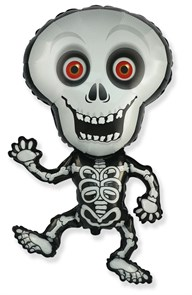 Воздушный шар  Танцующий скелет