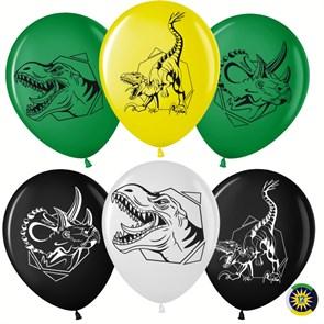 """Воздушные латексные шарики """"Эра Динозавров"""""""