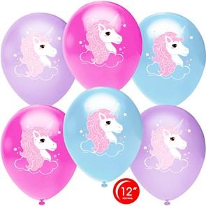 """Воздушный шары """"Волшебные единороги"""""""