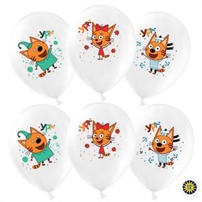 """Латексный воздушный шар """"Три кота"""""""