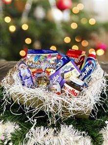 Новогодний сладкий подарочный набор
