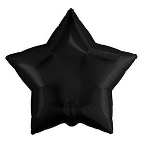 Воздушный шар гигант Звезда черная
