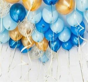 """Воздушные шары под потолок """"микс"""""""
