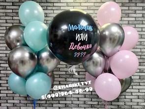 Набор воздушных шаров для гендерной вечеринки