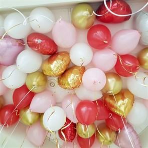 Набор воздушных шаров под потолок