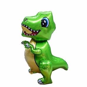 """Ходячая фигура """"Маленький динозавр"""" зеленый  в упаковке"""