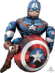 Шар ходячая фигура, Мстители, Капитан Америка