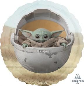 Воздушный шар Круг, Звездные войны, Малыш Йода