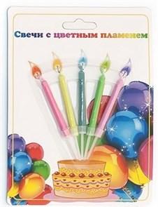 Свечи с цветным пламенем