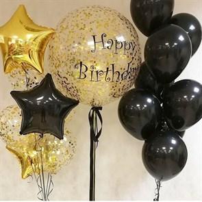"""Набор воздушных шаров  """"Happy birthday"""""""