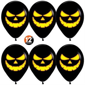 """Воздушный шар на Хэллоуин """"Тыква с Хэллоуин"""""""