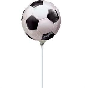 Футбольный мяч на палочке