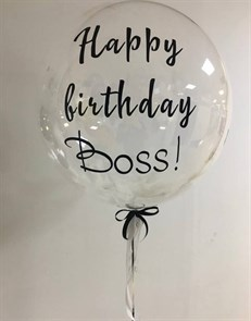 Bubbles на день рождения начальника 50 см