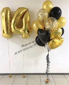 Набор воздушных шаров на 14 лет