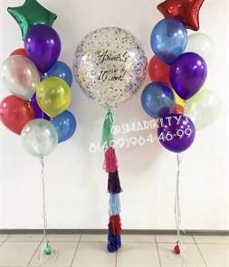 Набор воздушных шаров «Большой конфетти»