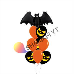 "Набор воздушных шаров на Хэллоуин ""Мышка"""