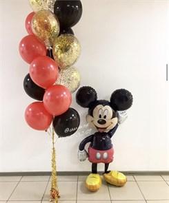 """Набор воздушных шаров на день рождения """"Микки Маус"""""""