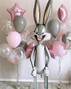 Набор воздушных шаров для девочки