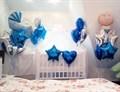 Композиция из фольгированных шаров для выписки из роддома - фото 4570