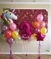 """Композиция из воздушных шаров """"Сказочный единорог"""" - фото 4741"""