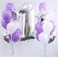 Набор воздушных шаров на день рождения - фото 4949