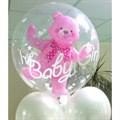 Воздушный шар фигура Медвежонок в шаре девочка - фото 5025