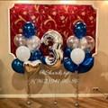 Композиция из воздушных шаров на день рождения №22 - фото 5033