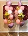 """Фонтан воздушных шариков """"розовое золото"""" - фото 5057"""