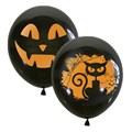 "Воздушный шарик 30 см ""на хэллоуин"" - фото 5138"