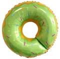 """Воздушный шар """"Пончик зеленый"""" - фото 5231"""