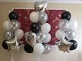 """Оформление воздушными шарами """"Серебристое оформление"""" - фото 5438"""